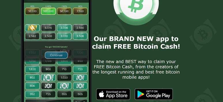 bitcoin cash free
