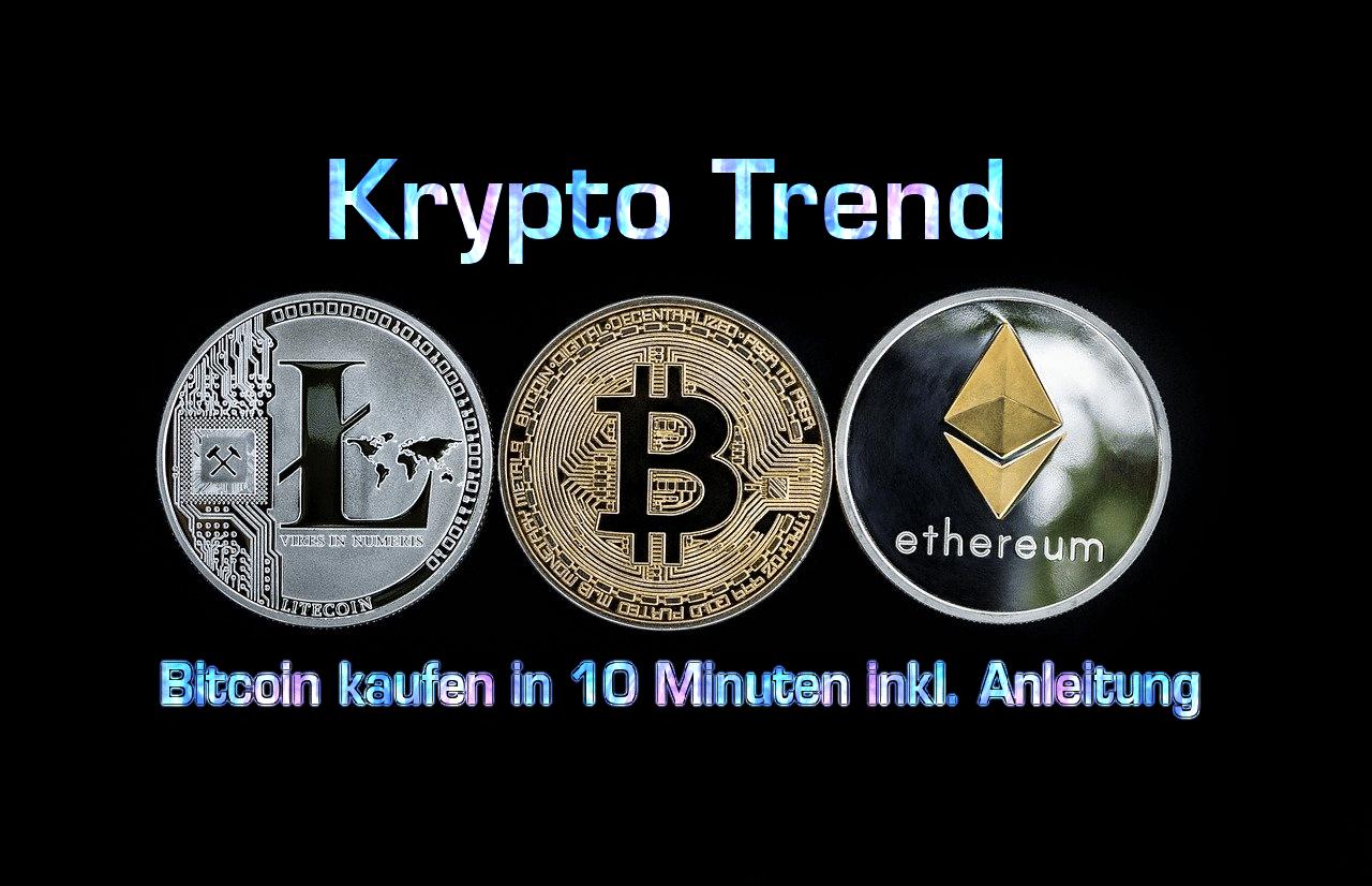 Bitcoin kaufen in 10 Minuten – Schritt-für-Schritt Anleitung