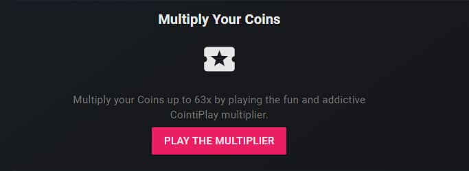 cointiply multilier