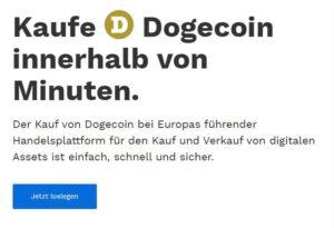 Dogecoin kaufen auf Bitpanda – Inklusive Anleitung