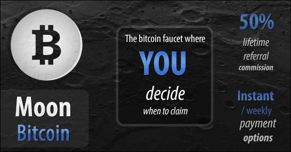 Moon Bitcoin – Top Coinpot Faucet