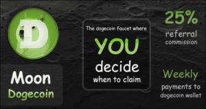 Moon Dogecoin Vorstellung 2020 – Top Coinpot Faucet – Empfehlung