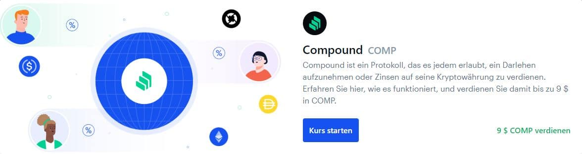 coinbase earn compound