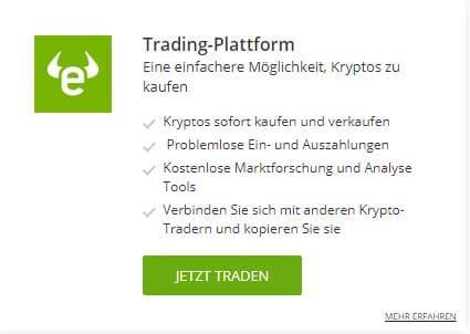 etoro vorteilkarte 1 1 bitcoin mit paypal kaufen