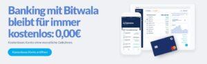 GRATIS Konto Bitwala – Erste deutsche Bank mit Kryptowährung