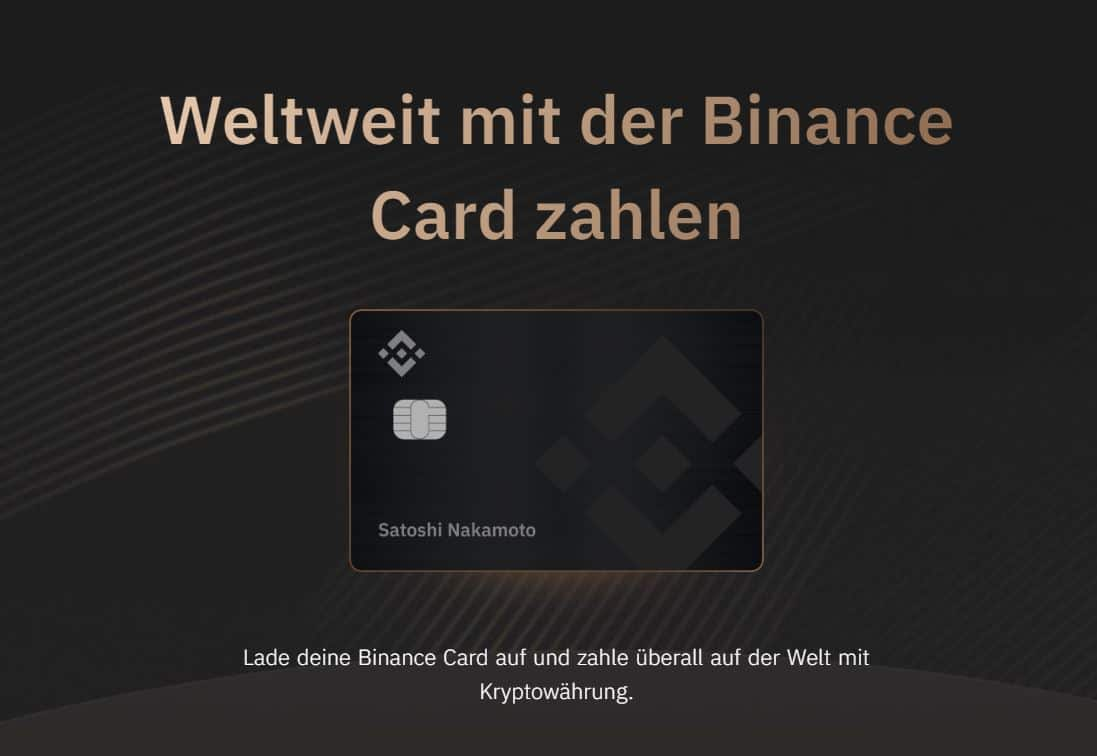 binance card