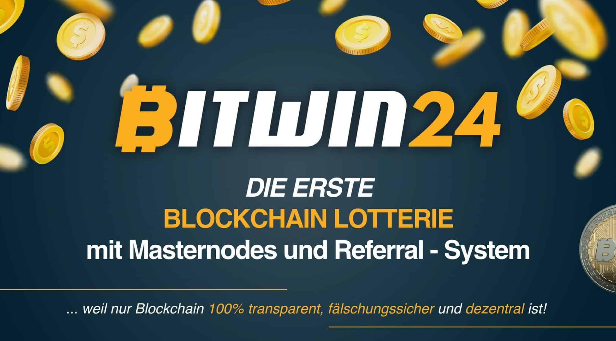 Bitwin24 Airdrop | Blockchain Lotterie der GetNode Gründer