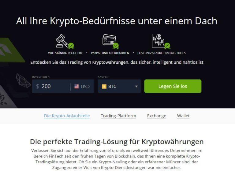 etoro verkauf trade
