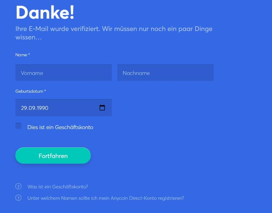 anycoin direct registrierung 3 anycoin direct