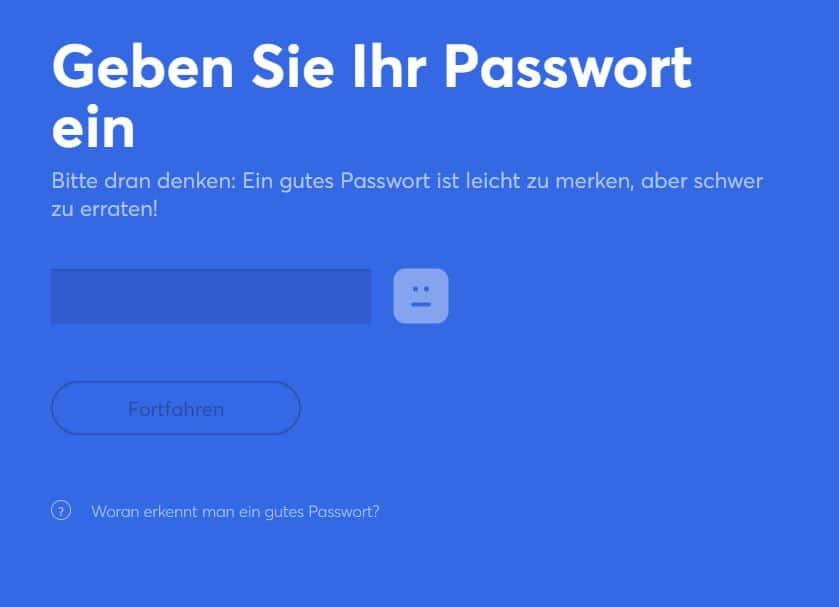anycoin direct passwort