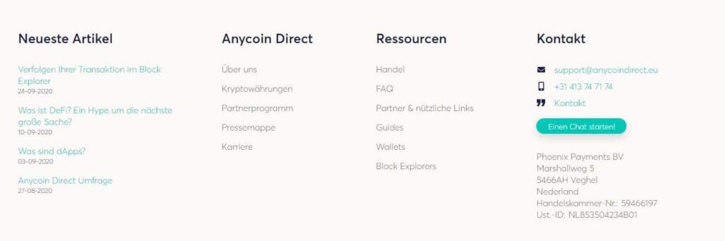 anycoin-infos