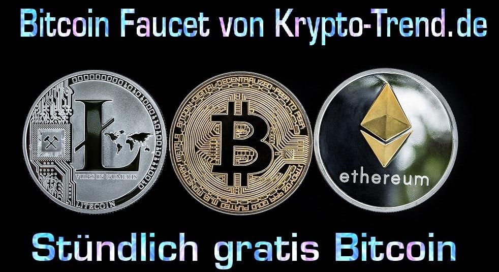 Bitcoin Faucet Krypto-Trend | Stündlich gratis Satoshis