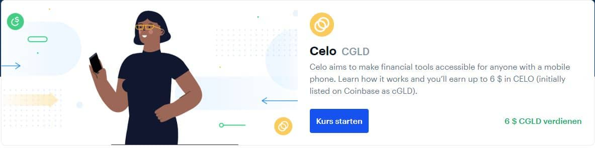 coinbase earn celo