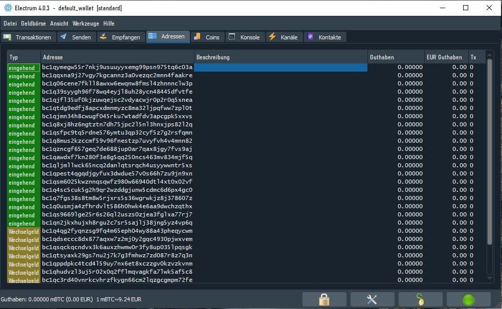 electrum-wallet-bitcoin-adresse
