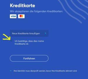 anycoin-kreditkarte-bestätigen
