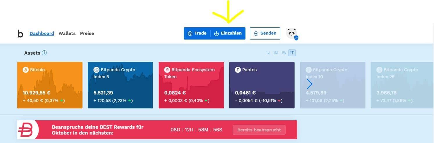 kryptowährung kaufen bei bitpanda