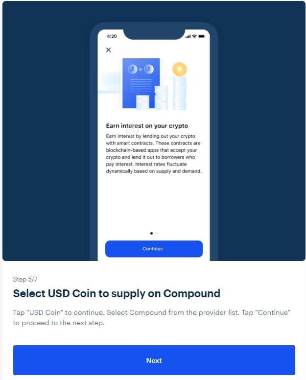 earn interest crypto