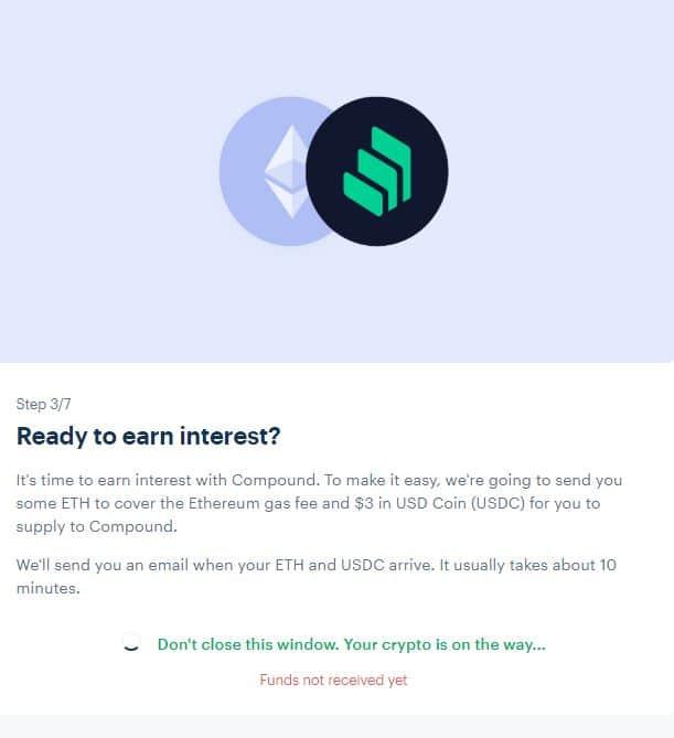 earn interest coinbase