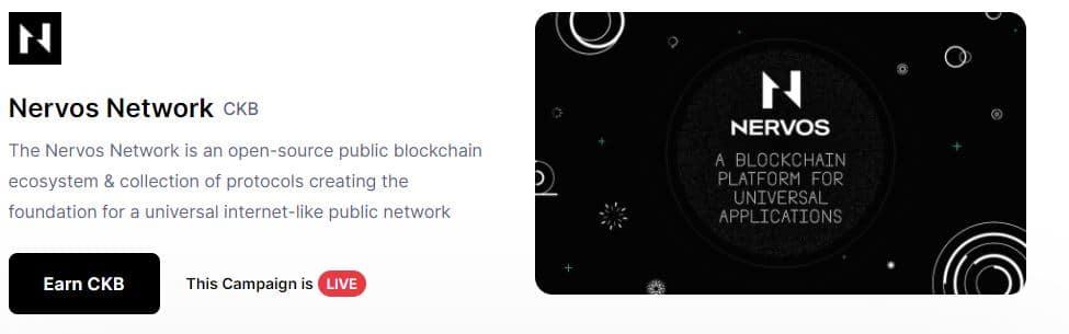 nervos network coinmarketcap earn nervos network